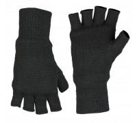 Милтек перчатки беспалые вязаные Thinsulate черные