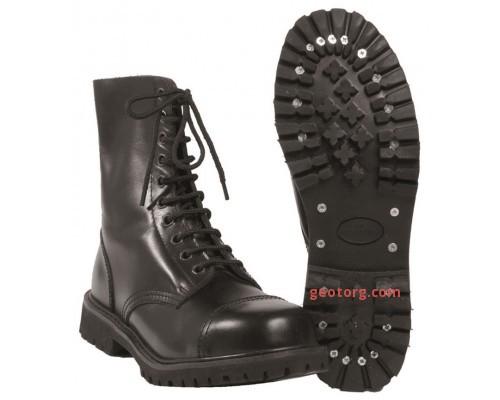 "Ботинки ""INVADER"" (10 дырок) черные"