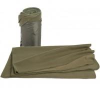 """Одеяло флис """"200х150""""см оливковое"""