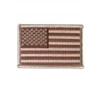 Милтек США флаг нарукавный дезерт