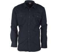Рубашка армейская форменная, Mil-tec, темно-синяя.